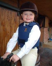 Bustini protettivi per bambini da equitazione