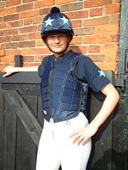 Bustini protettivi per equitazione