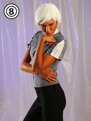 Camicia donna mezza manica modello Punto