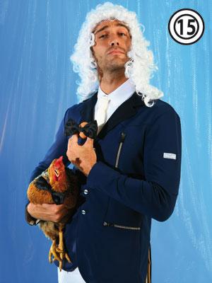 Animo collezione primavera estate 2009: giacca uomo da concorso modello Intuito