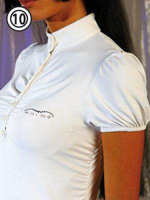Animo collezione primavera estate 2009: maglietta V-Polo donna modello Borgia
