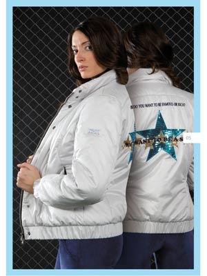 Animo collezione autunno-inverno 2009-2010: giubbotto giacca donna donna modello Lisbona Star